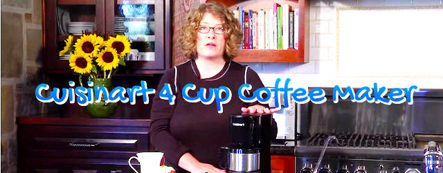 Best Cuisinart 4 Cup Coffee Maker Reviews